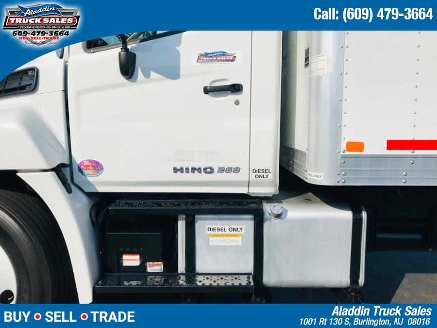 2018 Hino 268 Box Truck, available for sale in Burlington, New Jersey | Aladdin Truck Sales. Burlington, New Jersey