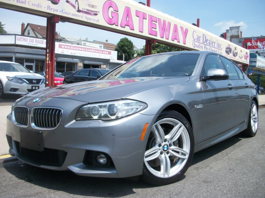 2015 BMW 5 Series M Sport 4dr Sdn 535i xDrive AWD, available for sale in Jamaica, New York | Gateway Car Dealer Inc. Jamaica, New York