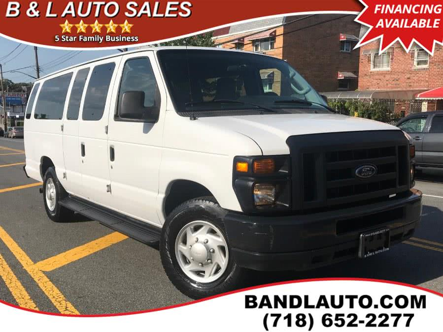 2013 Ford Econoline Wagon E-350 Super Duty Ext XLT, available for sale in Bronx, NY