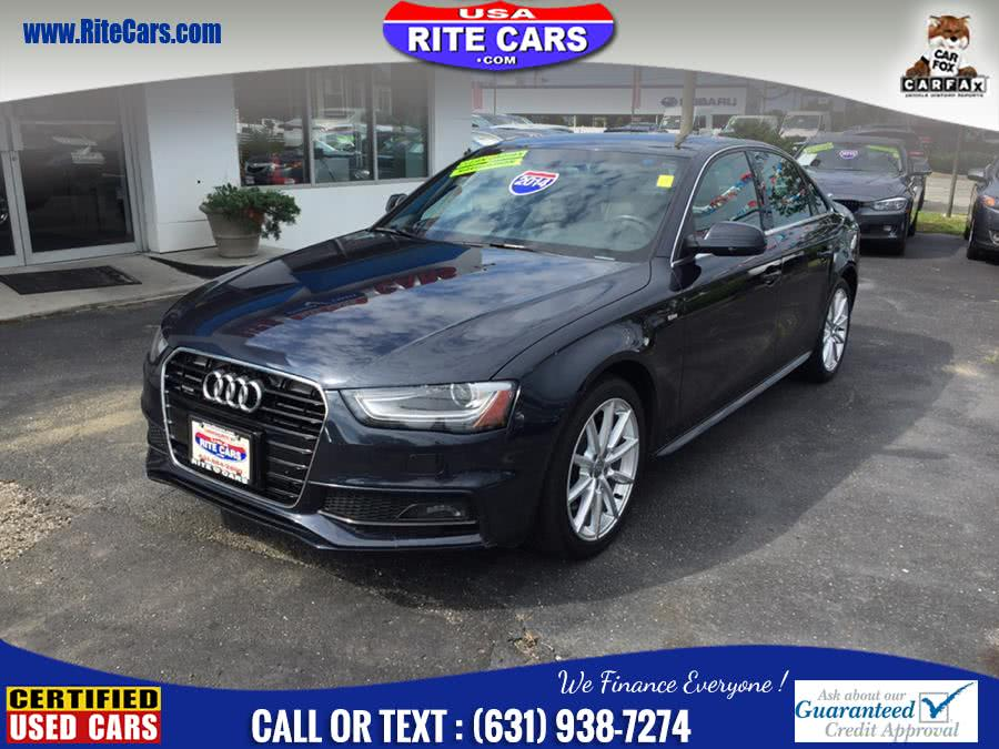 Used 2014 Audi A4 in Lindenhurst, New York | Rite Cars, Inc. Lindenhurst, New York