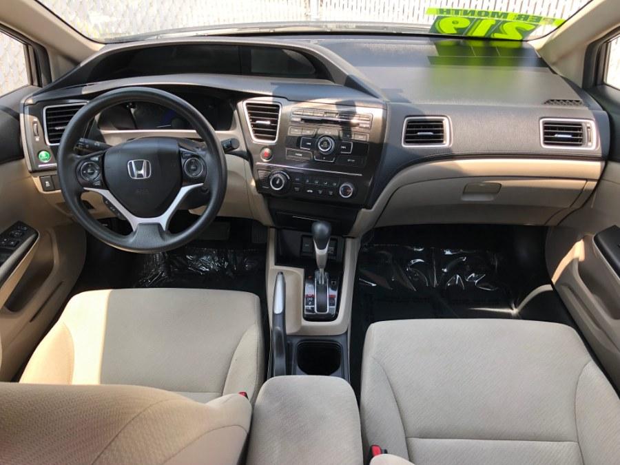 2013 Honda Civic Sdn 4dr Auto LX PZEV, available for sale in Bayshore, New York | Carmatch NY. Bayshore, New York