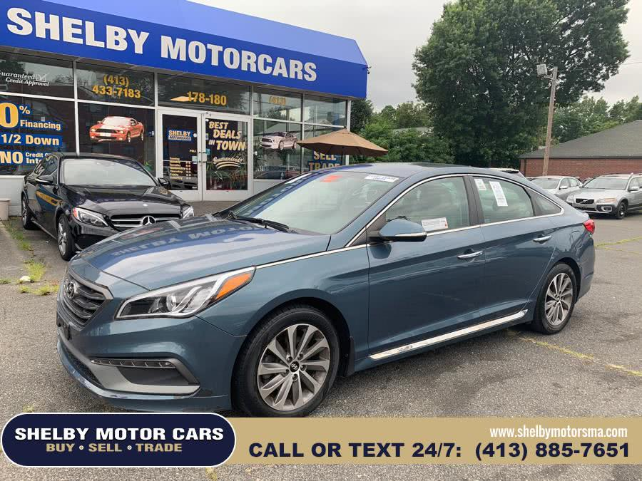 Used 2015 Hyundai Sonata in Springfield, Massachusetts | Shelby Motor Cars . Springfield, Massachusetts