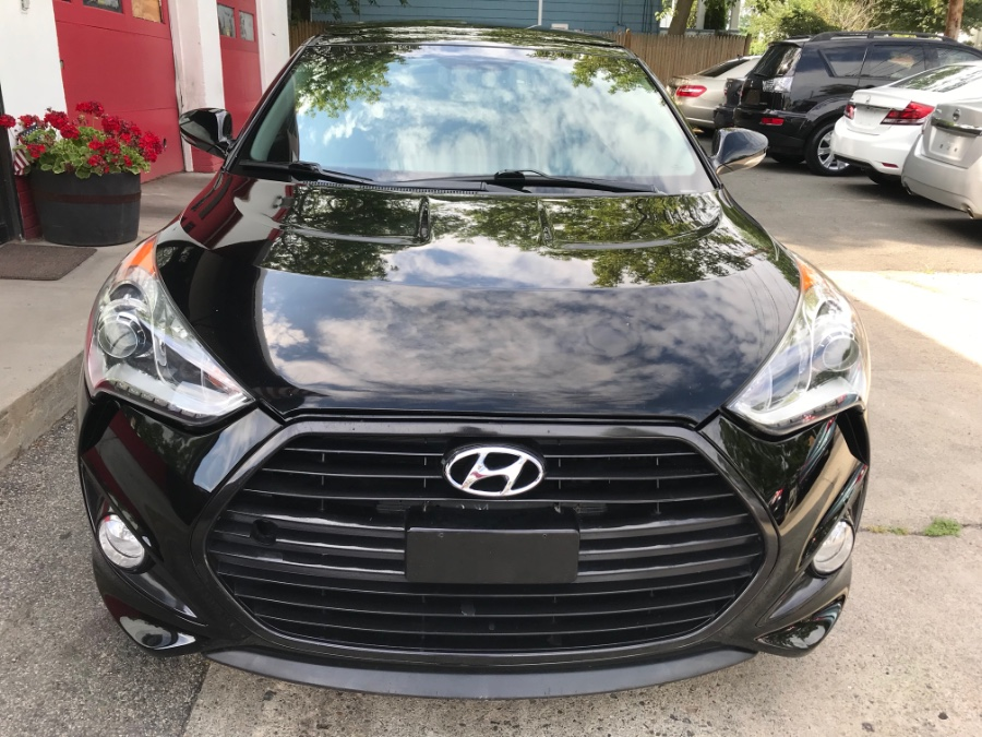 2013 Hyundai Veloster 3dr Cpe Auto Turbo w/Blue Int, available for sale in Melrose, Massachusetts   Melrose Auto Gallery. Melrose, Massachusetts