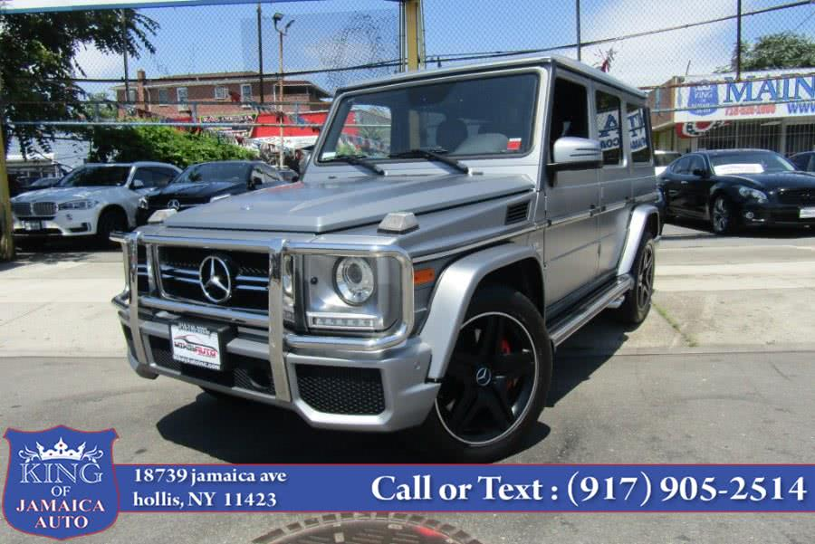 Used 2016 Mercedes-Benz G-Class in Hollis, New York | King of Jamaica Auto Inc. Hollis, New York