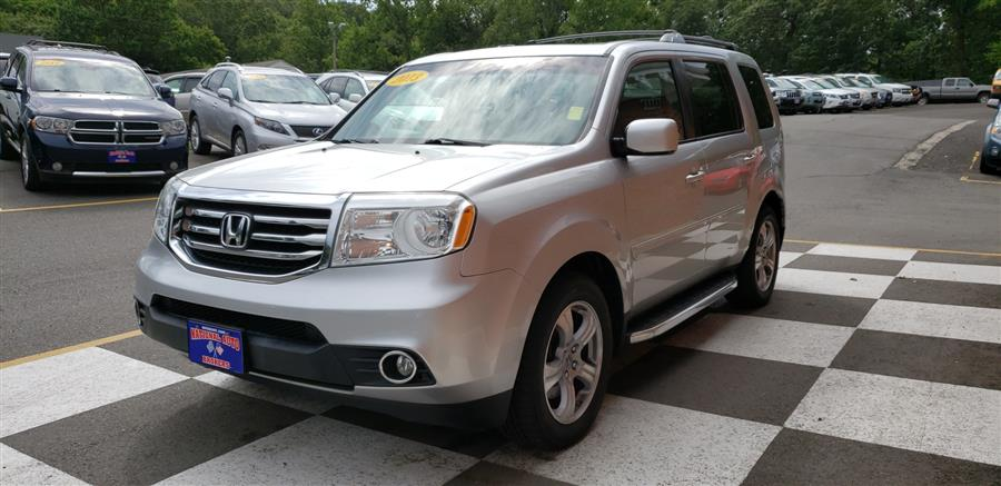 2013 Honda Pilot 4WD 4dr EX-L, available for sale in Waterbury, Connecticut | National Auto Brokers, Inc.. Waterbury, Connecticut