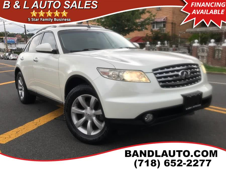 Used 2005 Infiniti FX35 in Bronx, New York | B & L Auto Sales LLC. Bronx, New York
