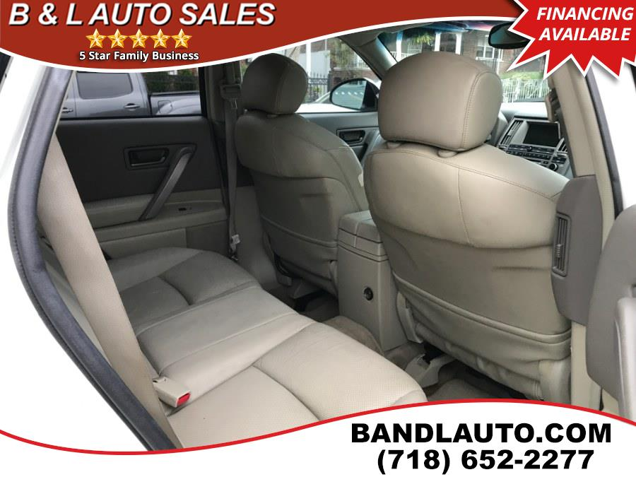 2005 Infiniti FX35 4dr AWD, available for sale in Bronx, New York | B & L Auto Sales LLC. Bronx, New York