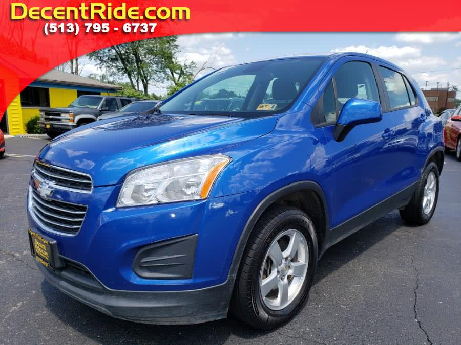 Used 2015 Chevrolet Trax in West Chester, Ohio | Decent Ride.com. West Chester, Ohio