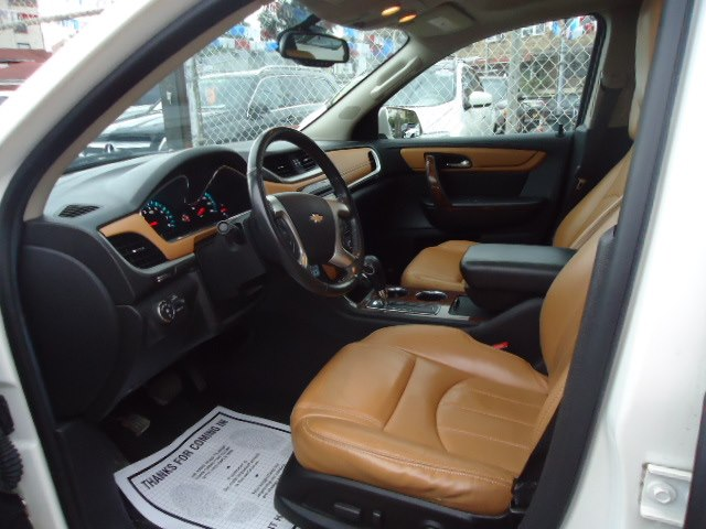 2014 Chevrolet Traverse AWD 4dr LTZ, available for sale in Brooklyn, New York | Top Line Auto Inc.. Brooklyn, New York