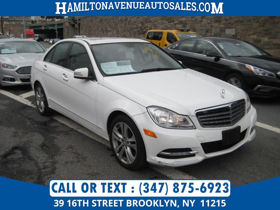 Used 2013 Mercedes-Benz C-Class in Brooklyn, New York | Hamilton Avenue Auto Sales DBA Nyautoauction.com. Brooklyn, New York
