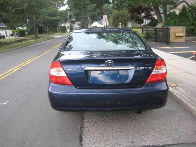 Used Toyota Camry LE 4dr Sedan 2002   Rite Choice Auto Inc.. Massapequa, New York