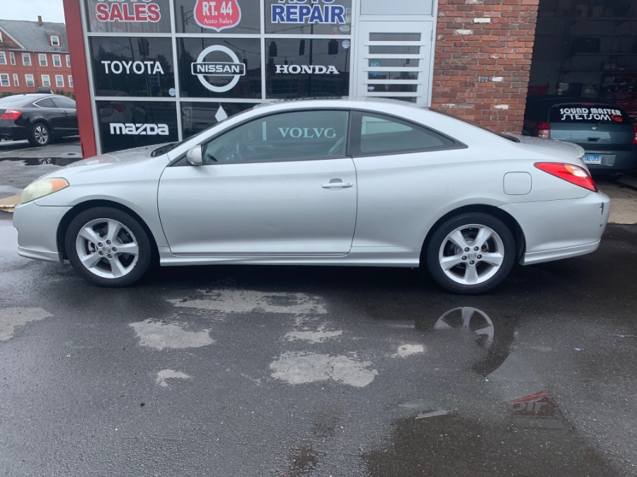 2006 Toyota Camry Solara 2dr Cpe SE V6 Auto (Natl), available for sale in Hartford, Connecticut | Route 44 Auto Sales & Repairs LLC. Hartford, Connecticut