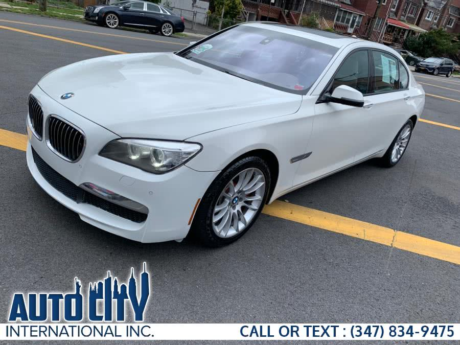 Used 2013 BMW 7 Series in Brooklyn, New York | Auto City Int Inc. Brooklyn, New York