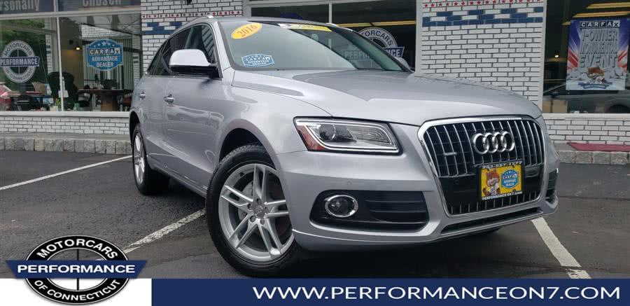 Used 2016 Audi Q5 in Wilton, Connecticut | Performance Motor Cars. Wilton, Connecticut