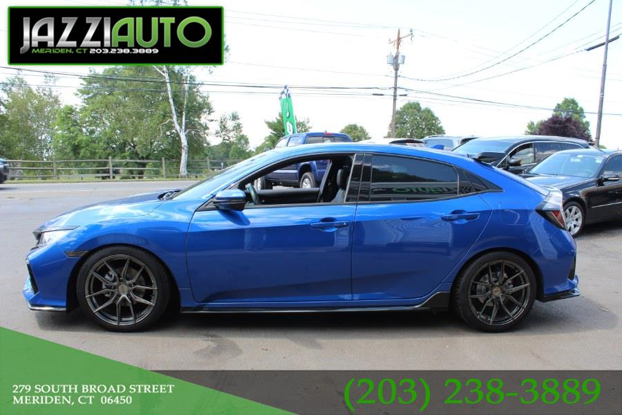 Used Honda Civic Hatchback Sport Touring CVT 2017 | Jazzi Auto Sales LLC. Meriden, Connecticut