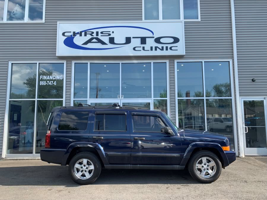 Used 2006 Jeep Commander in Plainville, Connecticut | Chris's Auto Clinic. Plainville, Connecticut