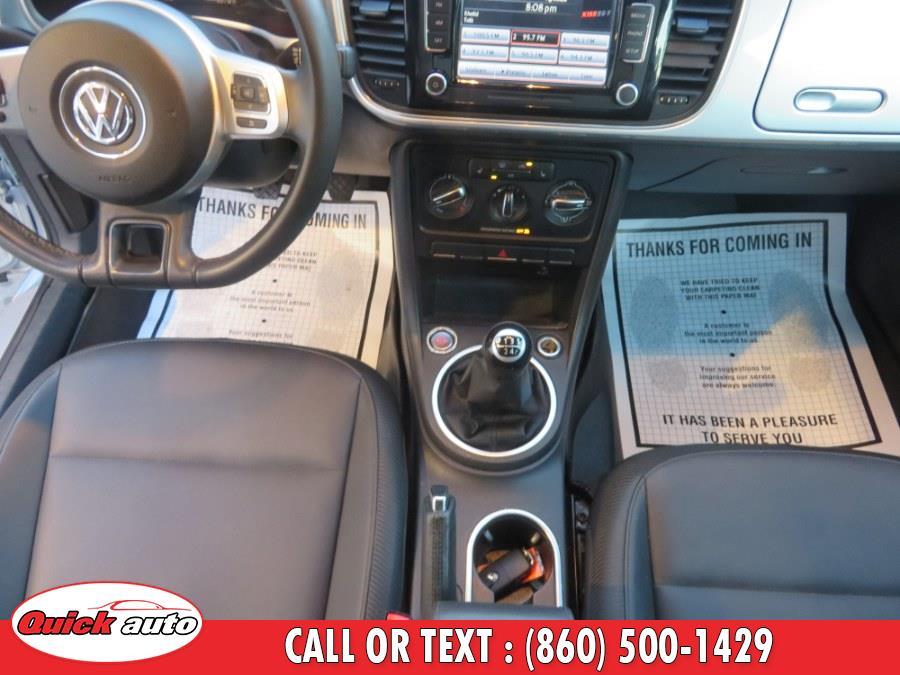 Used Volkswagen Beetle Coupe 2dr Man 2.5L w/Sun PZEV *Ltd Avail* 2014   Quick Auto LLC. Bristol, Connecticut