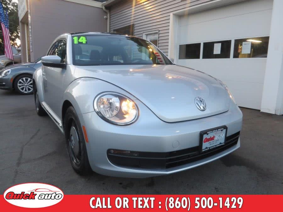 Used 2014 Volkswagen Beetle Coupe in Bristol, Connecticut | Quick Auto LLC. Bristol, Connecticut