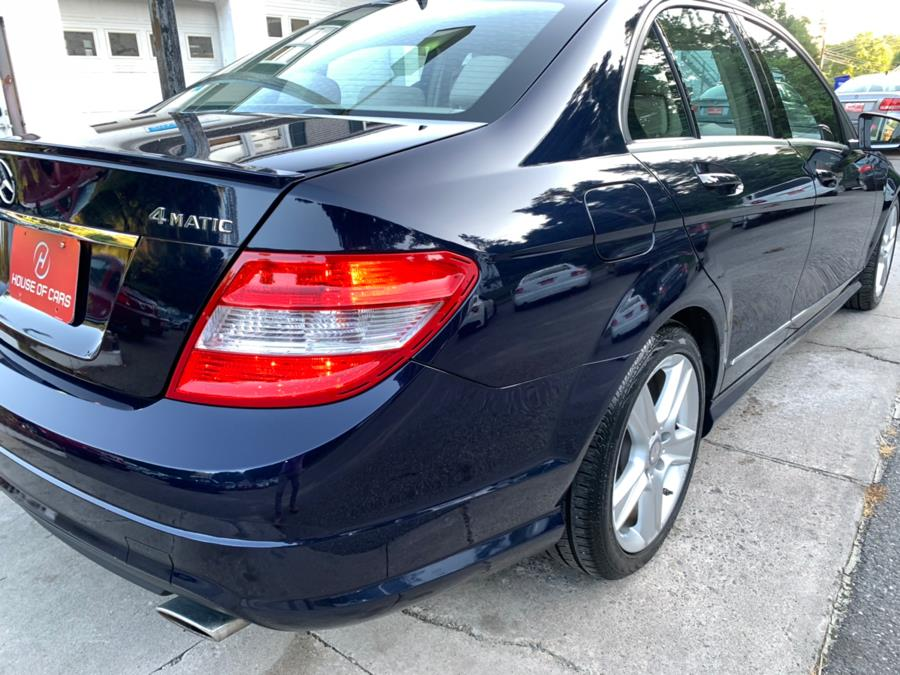 2011 Mercedes-Benz C-Class 4dr Sdn C300 Luxury 4MATIC, available for sale in Watertown, Connecticut | House of Cars. Watertown, Connecticut