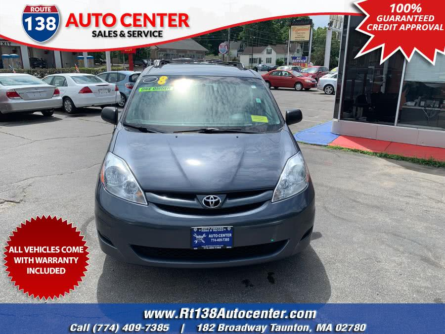 2008 Toyota Sienna 5dr 8-Pass Van LE FWD (Natl), available for sale in Taunton, Massachusetts | Rt 138 Auto Center Inc . Taunton, Massachusetts