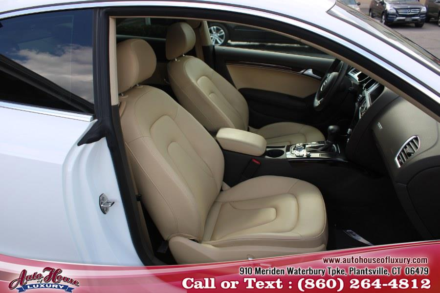 2016 Audi A5 2dr Cpe Auto Premium Plus, available for sale in Plantsville, Connecticut | Auto House of Luxury. Plantsville, Connecticut