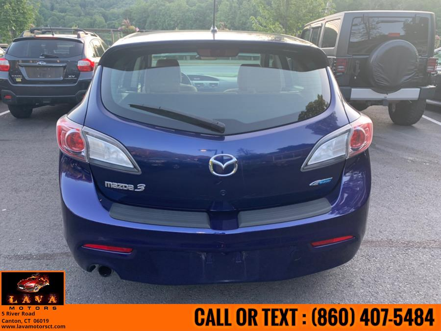2012 Mazda Mazda3 5dr HB Auto i Touring, available for sale in Canton, Connecticut | Lava Motors. Canton, Connecticut