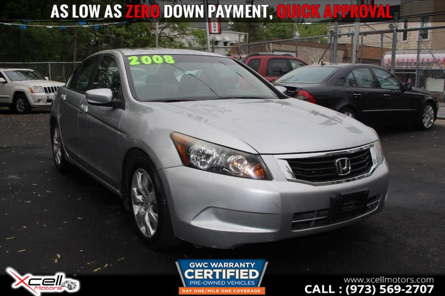 Used 2008 Honda Accord Sdn in Paterson, New Jersey | Xcell Motors LLC. Paterson, New Jersey