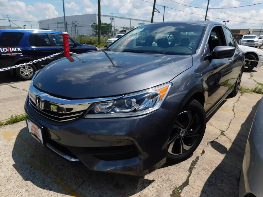 Used Honda Accord Sedan 4dr I4 CVT LX 2016 | Supreme Motor Sport. Elizabeth, New Jersey