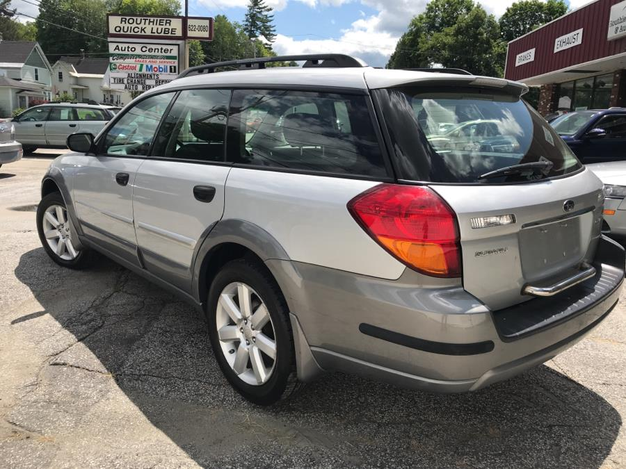 Used Subaru Legacy Wagon 4dr H4 AT Outback 2007   Routhier Auto Center. Barre, Vermont