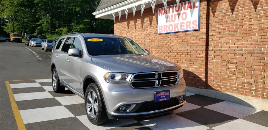Used 2016 Dodge Durango in Waterbury, Connecticut | National Auto Brokers, Inc.. Waterbury, Connecticut