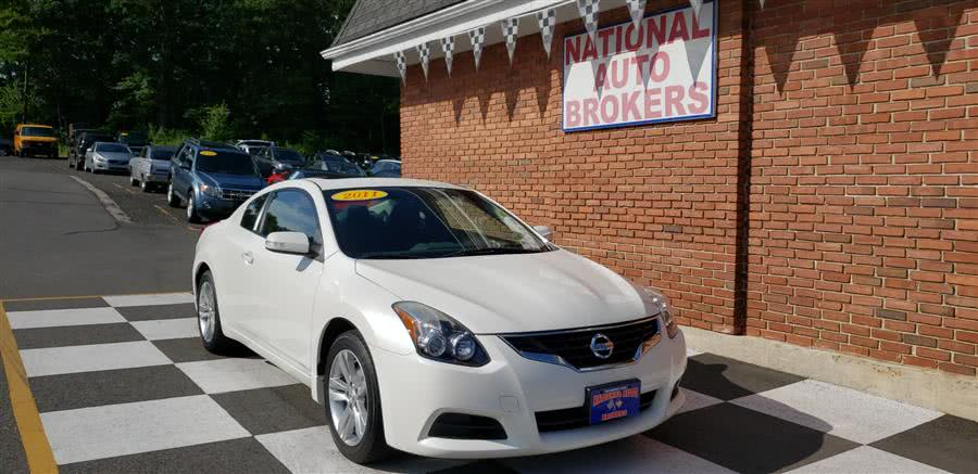 2011 Nissan Altima 2dr Coupe 2.5 S, available for sale in Waterbury, Connecticut | National Auto Brokers, Inc.. Waterbury, Connecticut