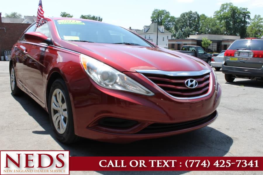 Used 2011 Hyundai Sonata in Indian Orchard, Massachusetts | New England Dealer Services. Indian Orchard, Massachusetts