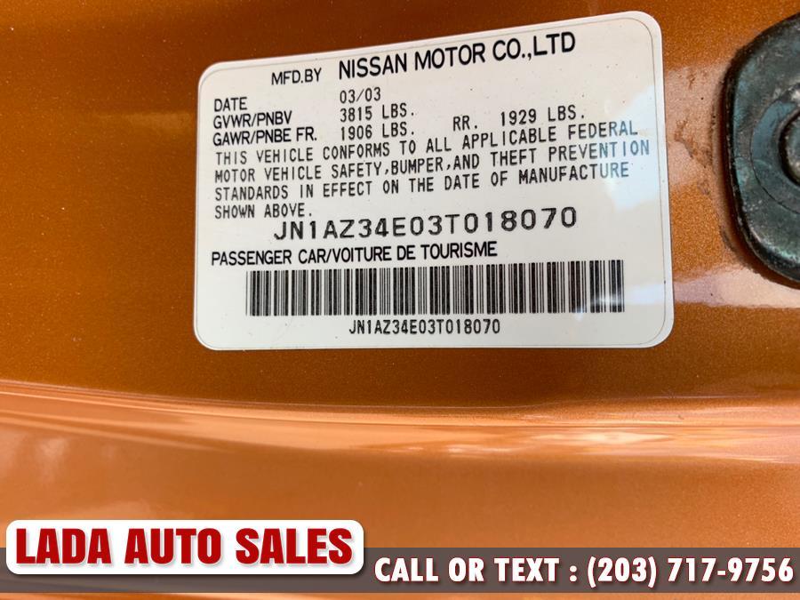 2003 Nissan 350Z 2dr Cpe touring, available for sale in Bridgeport, Connecticut | Lada Auto Sales. Bridgeport, Connecticut