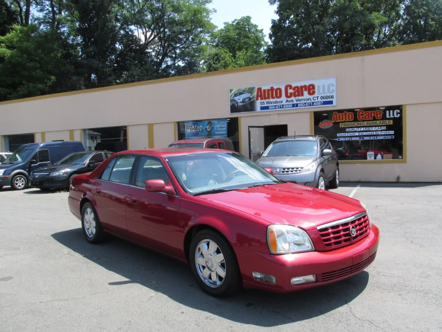 Used Cadillac DeVille 4dr Sdn DTS 2003 | Auto Care Motors. Vernon , Connecticut