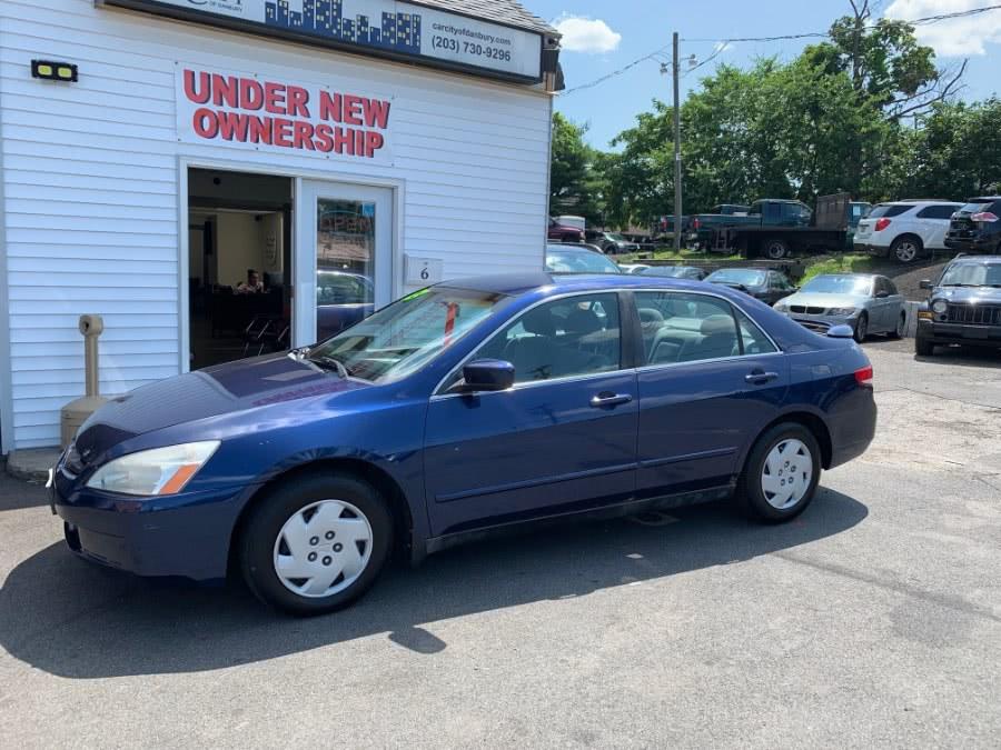 Used Honda Accord Sdn LX Manual 2003 | Car City of Danbury, LLC. Danbury, Connecticut