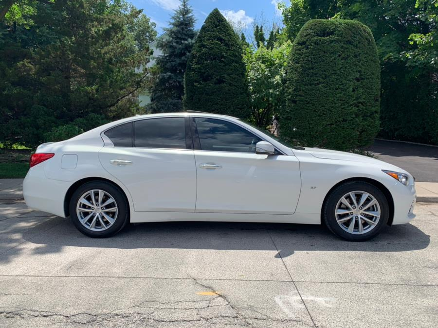 2015 Infiniti Q50 4dr Sdn Premium AWD, available for sale in Franklin Square, New York   Luxury Motor Club. Franklin Square, New York