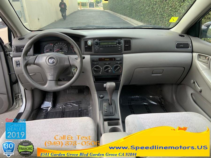 Used Toyota Corolla 4dr Sdn CE Auto (Natl) 2003   Speedline Motors. Garden Grove, California