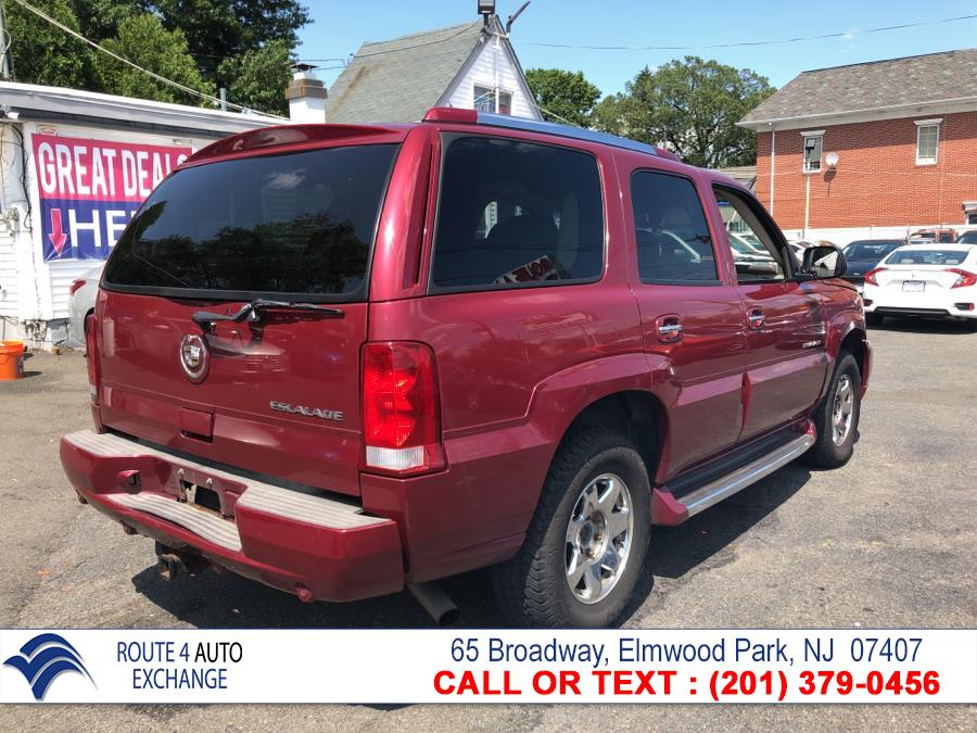 2004 Cadillac Escalade 4dr AWD, available for sale in Elmwood Park, New Jersey | Route 4 Auto Exchange. Elmwood Park, New Jersey