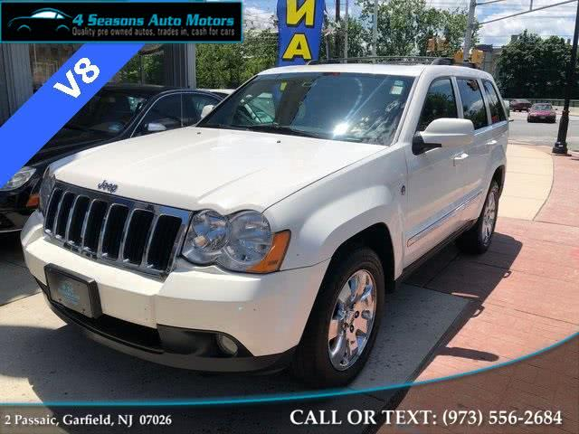 2008 Jeep Grand Cherokee Limited, available for sale in Garfield, New Jersey | 4 Seasons Auto Motors. Garfield, New Jersey