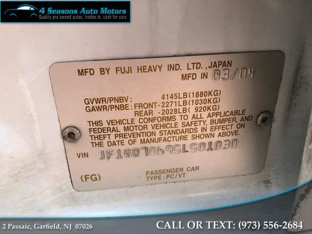 2005 Subaru Impreza WRX STi, available for sale in Garfield, New Jersey | 4 Seasons Auto Motors. Garfield, New Jersey