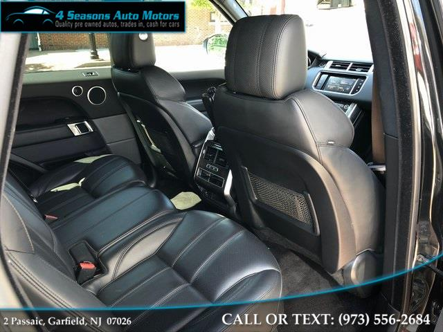 2016 Land Rover Range Rover Sport 3.0L V6 Supercharged HSE, available for sale in Garfield, New Jersey | 4 Seasons Auto Motors. Garfield, New Jersey