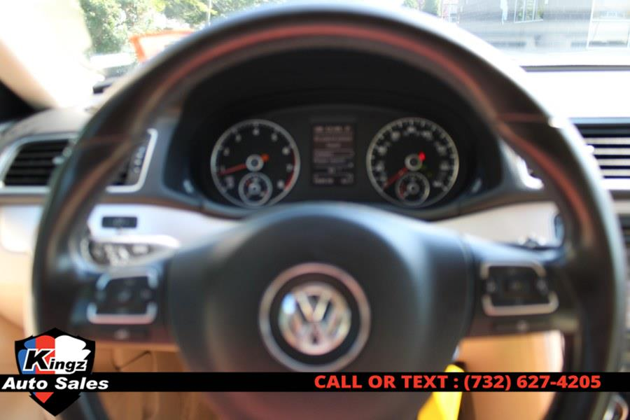 2013 Volkswagen Passat 4dr Sdn 2.5L Auto SE PZEV, available for sale in Avenel, New Jersey | Kingz Auto Sales. Avenel, New Jersey
