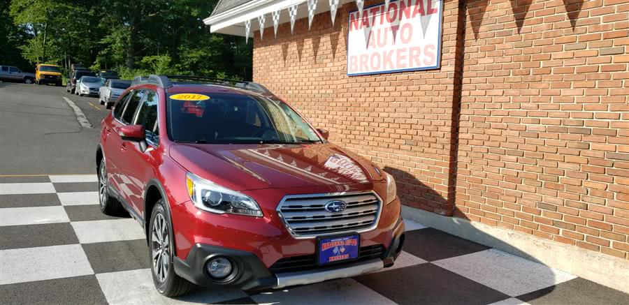 Used Subaru Outback 2.5i Limited 2017 | National Auto Brokers, Inc.. Waterbury, Connecticut