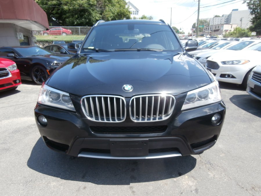 2013 BMW X3 AWD 4dr xDrive35i, available for sale in Waterbury, Connecticut | Jim Juliani Motors. Waterbury, Connecticut