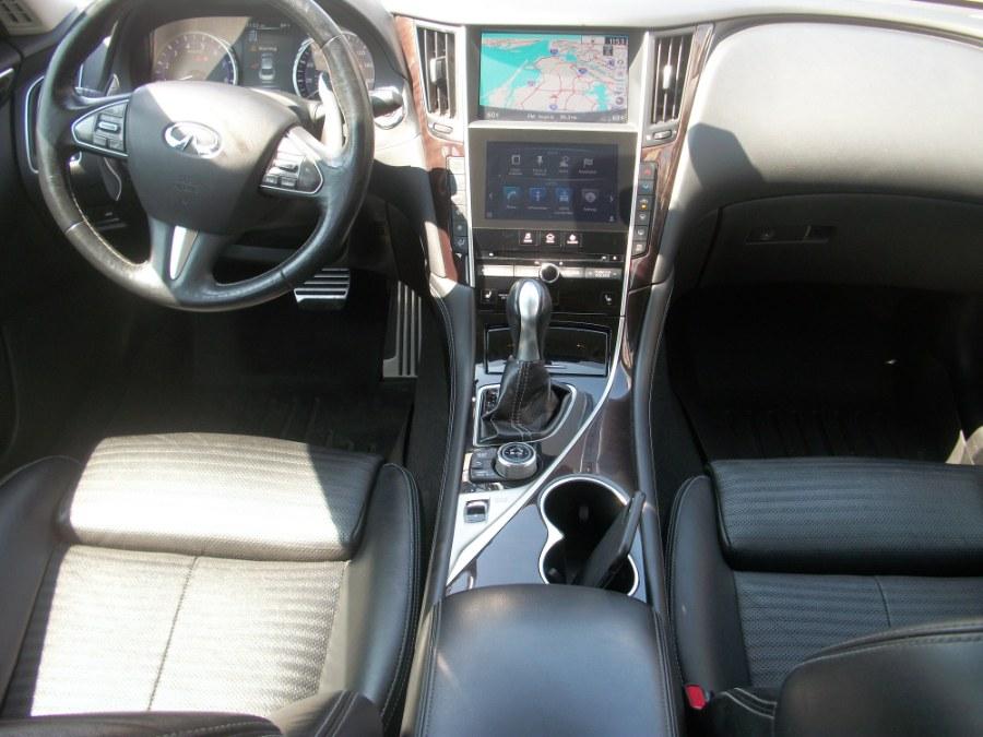 2015 Infiniti Q50S 4dr Sdn Premium AWD, available for sale in Jamaica, New York   Gateway Car Dealer Inc. Jamaica, New York