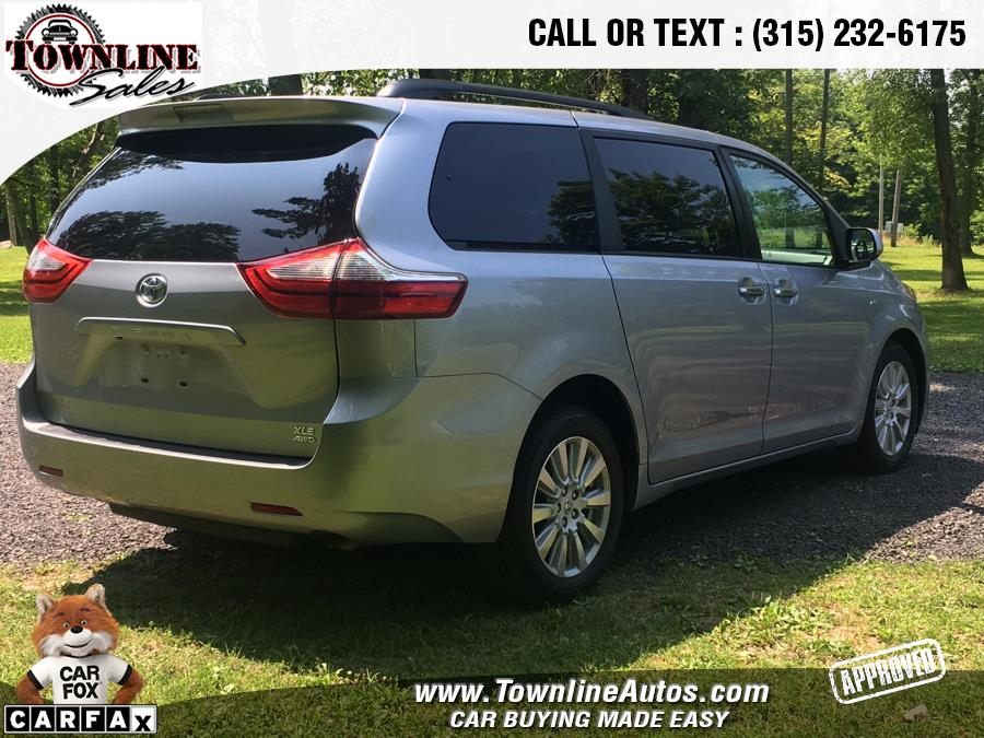 2017 Toyota Sienna XLE AWD 7-Passenger (Natl), available for sale in Wolcott, New York   Townline Sales LLC. Wolcott, New York