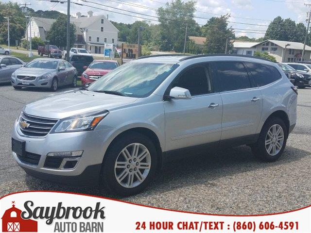 2014 Chevrolet Traverse AWD 4dr LT w/1LT, available for sale in Old Saybrook, Connecticut | Saybrook Auto Barn. Old Saybrook, Connecticut