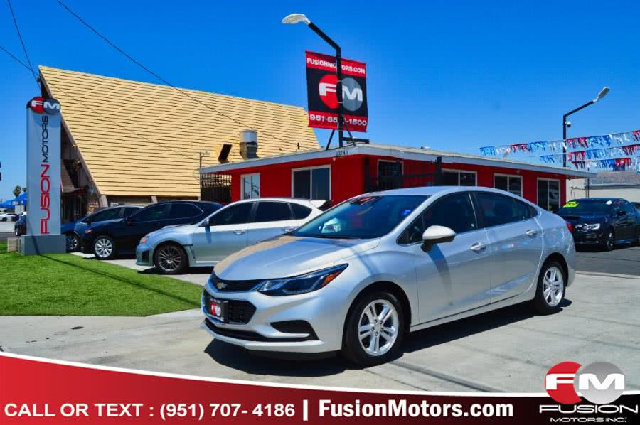 Used 2017 Chevrolet Cruze in Moreno Valley, California | Fusion Motors Inc. Moreno Valley, California