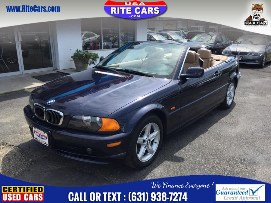2002 BMW 3 Series 325Ci 2dr Convertible, available for sale in Lindenhurst, New York | Rite Cars, Inc. Lindenhurst, New York