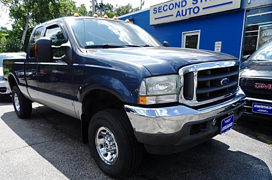 2004 Ford F250sd XL XLT SUPERCAB, available for sale in Manchester, New Hampshire | Second Street Auto Sales Inc. Manchester, New Hampshire